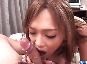 Asian,Blowjob,Japanese,mom,hot milf,busty,position 69,ass licking Rina likes sucking and licking big...