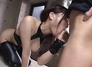 asian,brunette,cosplay once the cock gets to be sucked it is...