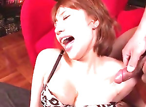 Asian,MILF,Pantyhose,mom,hot milf,sexy pantyhose,fishnet,asian,Toys,lingerie,vibrator,cumshot,cum on tits,natural tits Pantyhose oral scenes along naughty...