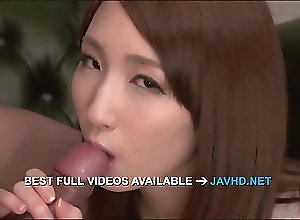 Asian,Blowjob,Japanese Rikka Anna amazing asian blowjob with...