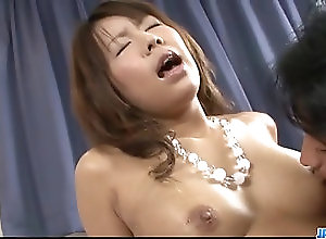Asian,Blowjob,Japanese Serious porn show for busty Maki...