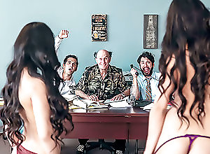 Threesome,Blowjob,Spanking,Deep Throat,Missionary,HD,Doggystyle,Riding,Tits Fucking,Office Sex,Asian,Brunette,Long Hair,Curly Hair,Tattoo,Shaved Pussy,Big Tits,Pornstars/Babes,Hardcore The Gang Makes a Porno: A DP XXX...