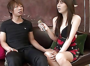 Asian;Blowjobs;Creampie;Hardcore;Japanese;Tight Vagina;Big Vagina;Big Dick;Jav HD Karen Natsuhara uses big dick to...