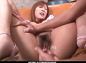 heymilf;adult;toys;asian;japanese;amateur;sex;toys;vibrator;pink;pussy;hairy;pussy;toy;insertion;fingering;toys,Asian;Amateur;Toys;Japanese Casting for porn ends with serious...