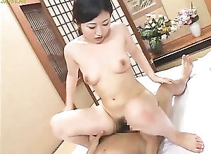 cute Asian babe getting her wet pussy...