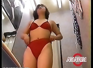 tits,panties,amateur,naked,asian,teasing,nude,strip,voyeur,japanese,reality,spycam,asian_woman Bathing Suit Fitting Room Full Record