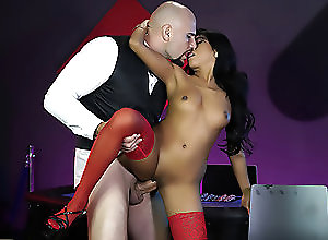 Facial,Blowjob,Spanking,69,Missionary,HD,Doggystyle,Stockings,Riding,High Heels,Natural Tits,Brunette,Long Hair,Shaved Pussy,Small Tits,Asian,Hardcore House Rules - Digital Playground