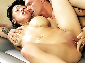 Pornstars/Babes,Asian,Bath/Shower,Big Tits,nuru massage,Fantasy Massage,pornstars/babes,asian,big tits,fake tits,bath,fingering,shaved pussy,blowjob The Boss's Secretary