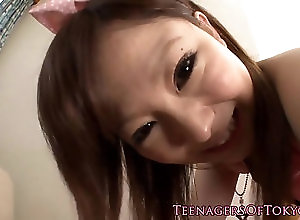 closeup,girlfriend,toy Japanese teen girlfriend jerking off...