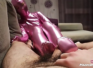 point-of-view;zentai;footjob;feet;suit;zentai-suit;pink-zentai;blowjob;traje-zentai;bodysuit;full-body-suit;pies;足交;乳胶衣;chinese;紧身衣,Asian;Amateur;Blowjob;POV;Feet;60FPS;Verified Amateurs;Verified Couples Cute Mao wears a zentai suit and...