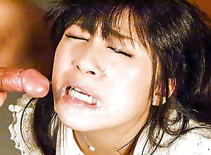 Blowjob,Japanese,Asian,Facial,Cumshot,MILF Kyoka Mizusawa ravishing porn session...