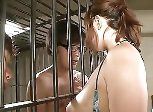 Asian;Bikini;Blowjobs;Japanese;In Prison;Prison;Jav HD Neiro Suzuka plays with cocks while...