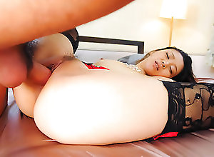 Asian,Blowjob,Japanese Minako Uchida looks dashing with two...