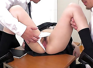 Amateur,Asian,Japanese,Uniform,Hairy,Teens,Panties,Fingering,Masturbation 楽しみのために 32