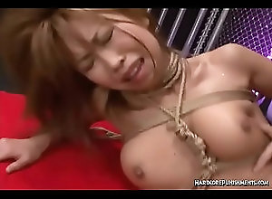 gagging,asian,domination,bdsm,bondage,submission,japanese,hair-pulling,choking,ropes,face-fuck,hairy-pussy,double-ender,mmf-threesome,tit-bondage,rope-around-throat,bdsm Hot MMF Threesome With Bondage Ropes...