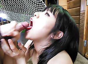 Asian,Blowjob,Japanese,Teens Airi Minami takes good care of a...