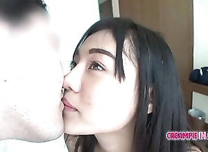 Asian,Creampie,Hardcore Young Thai spinner gets picked up and...