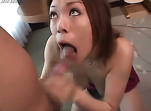 blowjob,fucking,japanese Sweet brunette Asian whore gives a...