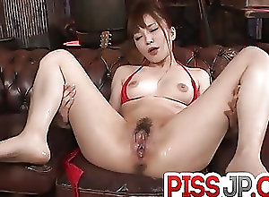 Asian;Bikini;Japanese;Sex Toys;Squirting;Red Lingerie;Steamy;Oral;Shio Fuky Steamy oral for Maomi Nagasawa in red...