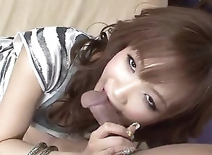 Asian,Creampie,asian,fingering,blowjob,hairy pussy,missionary,creampie Serious porn play on cam along Misa...