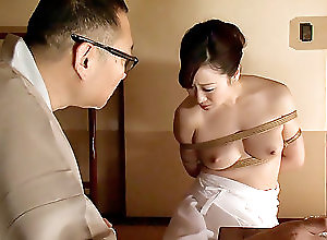 Asian,Japanese,Natural Tits,cosplay in japan,Erito,japanese,asian,tied up Housewife Yu Begins Her Bondage Training