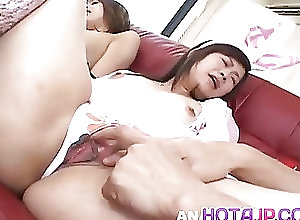 Asian;Blowjobs;Creampie;Group Sex;Japanese;Hitomi;Strong;Drilling;All Japanese Pass Hitomi Horiguchi gets such strong...
