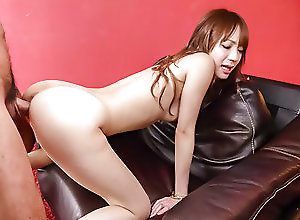 Asian,Japanese,Doggystyle,Hardcore,Teens,Small Tits,Hot Ass,Creampie,kissing,nice ass,pussy licking,fingering,doggy-style,dick riding,creamed pussy Ayaka Fujikita is ready for a tasty...