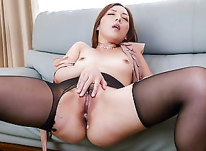 Asian,Creampie,Japanese Rough office hardcore trio with hot...