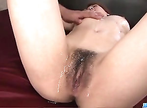 Asian,Big Tits,Japanese,bedroom,busty,hairy pussy,fingering,sex toys,vibrator,pussy licking,oiled body,hardcore action,deep penetration,cock sucking,dick riding,doggy-style,creamed pussy,pussy creampies,tits Busty Rei, fucked with toys and then...