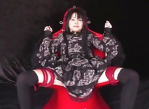 Asian,Shaved Pussy,Toys,hardcore action,sex toys,vibrator,toy insertion,pink pussy,black stockings,pussy,uniform,asian,shaved pussy,insertion,close up,Toys Dirty pussy play for amazingHikaru...