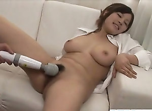 Asian,Toys,Hairy,mom,hot milf,big tits,natural tits,hairy pussy,vibrator,Toys,asian,blowjob Amateur, SARA, devours cock in sloppy...