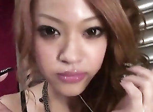 Asian,Blowjob,Cumshot,cock sucking,group action,cum in mouth,sexy lingerie,cumshot,Cum swallow,asian,japanese Rinka Kanzaki makes magic with her...