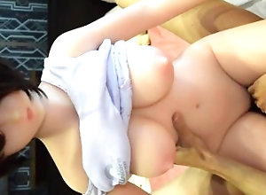 sex-doll;love-doll;sex-doll-fuck;cowgirl;creampie,Amateur;Creampie;Solo Male;60FPS;Japanese;Verified Amateurs SexDoll DH168 Nao Doll fuck Cowgirl...